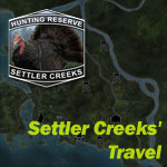theHunter миссии Settler Creeks' Travel