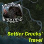 theHunter миссии Settler Creeks' Travel